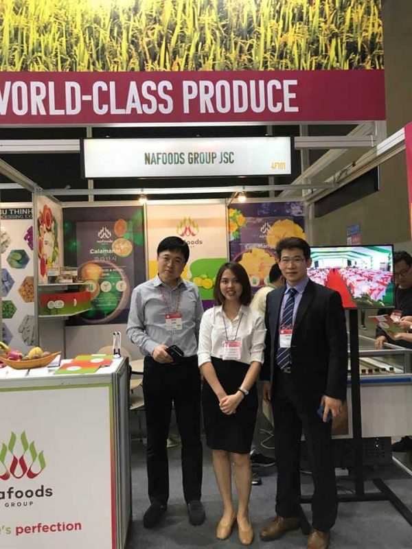 Nafoods Group participated in Seoul Food Exhibition 2018