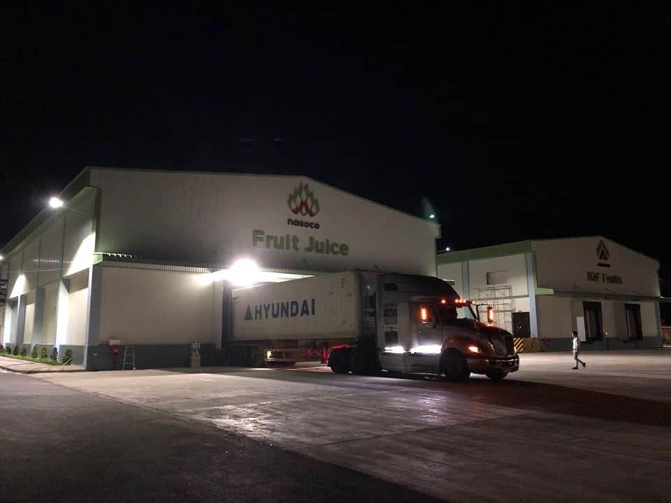 Hồi đầu quý II/2018, một công ty con của Nafoods Group là Nasoco vừa khánh thành Tổ hợp sản xuất và chế biến hoa quả xuất khẩu