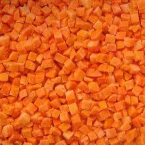 IQF Carrot - Cà rốt IQF - IQF胡萝卜