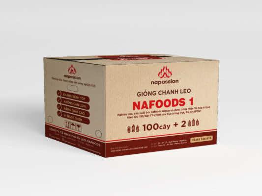 Nhận diện thùng giống chanh leo mới: Giống Nafoods 1