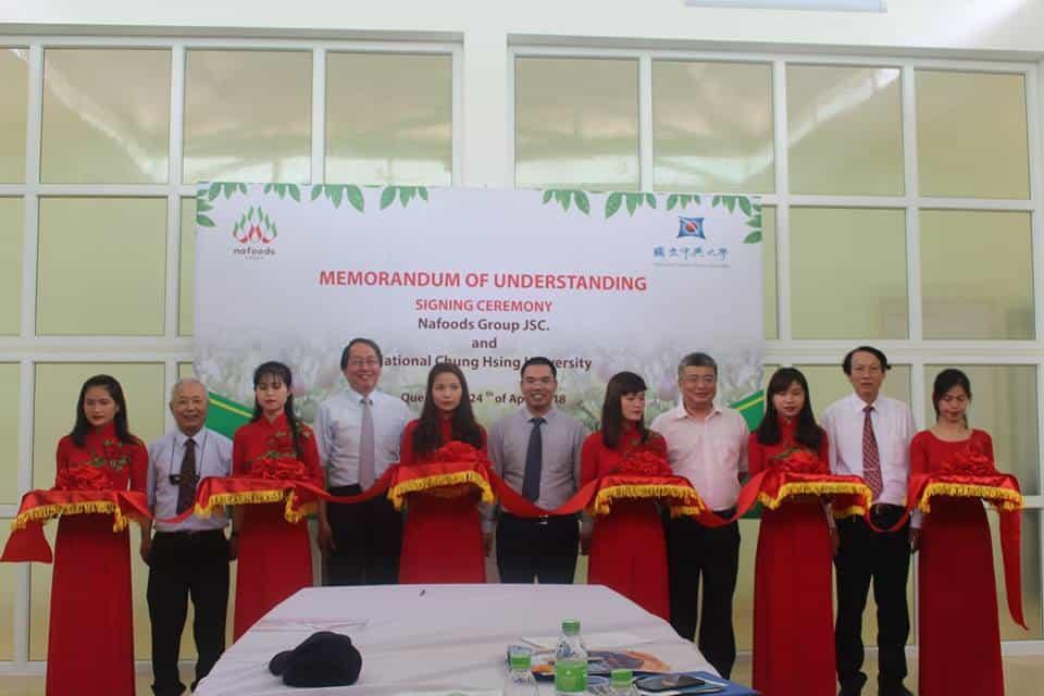 Nafoods Group股份公司与中兴国立大学签署了百香果种子生产合作协议