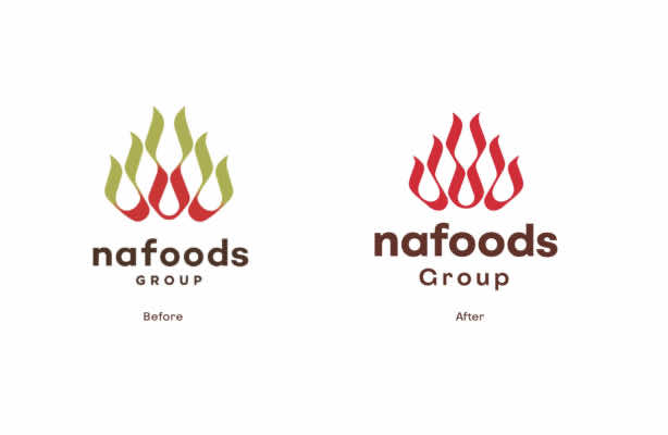 Nafoods Group changed its brand new identity in 2020