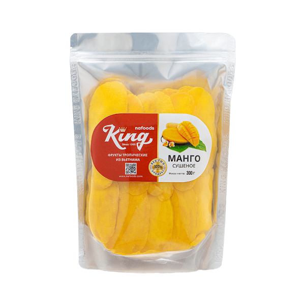 No Added Sugar Soft Dried Mango 300g