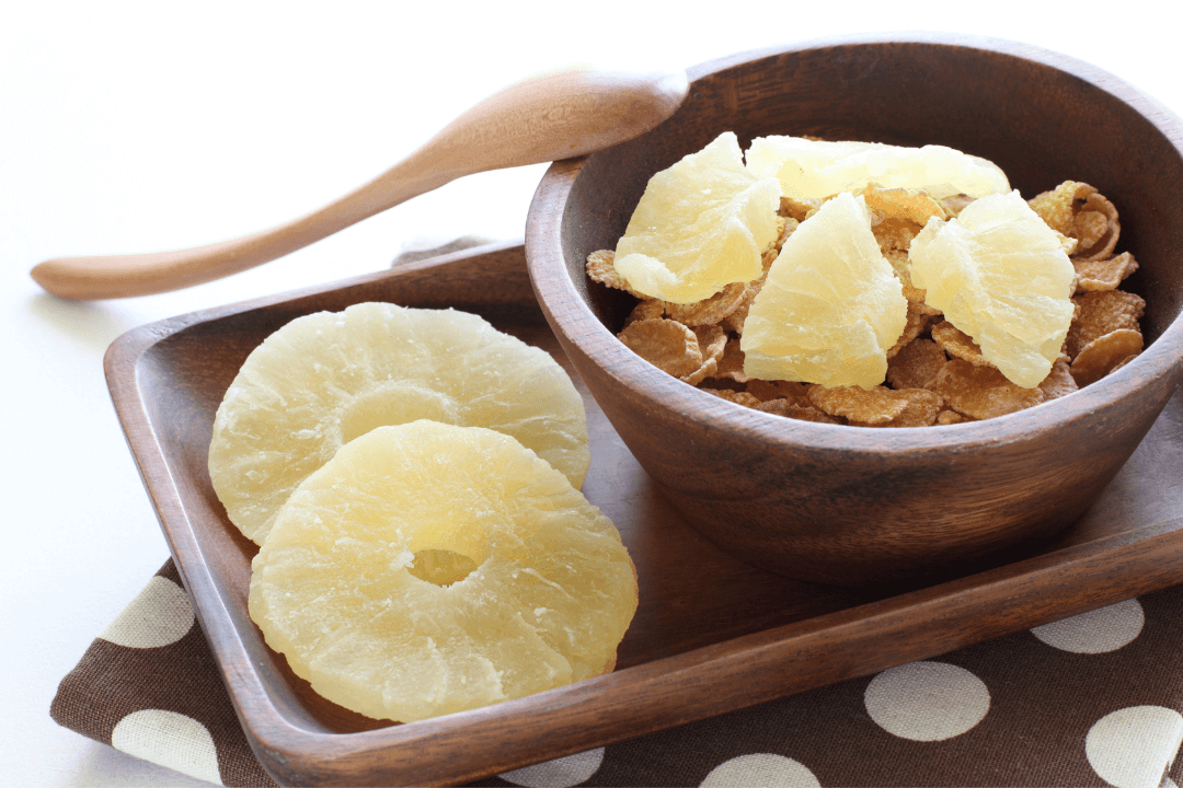 There are many ways to enjoy soft dried pineapple
