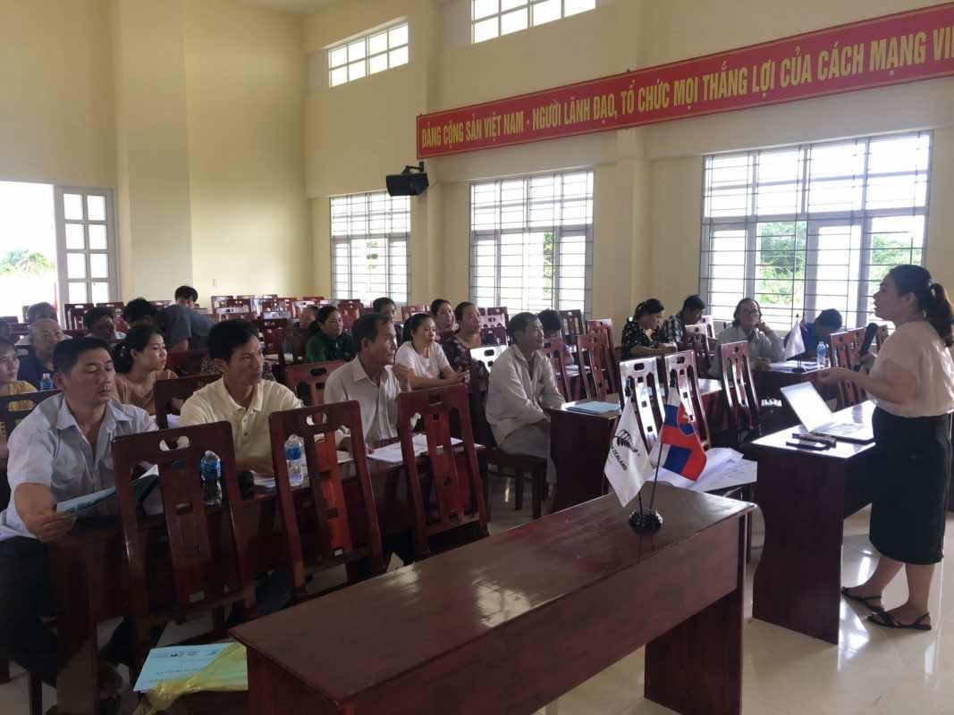 Nafoods phối hợp với IFC tổ chức tập huấn nhận thức chung tiêu chuẩn GLOBALGAP nông dân trồng thanh long tại Bình Thuận