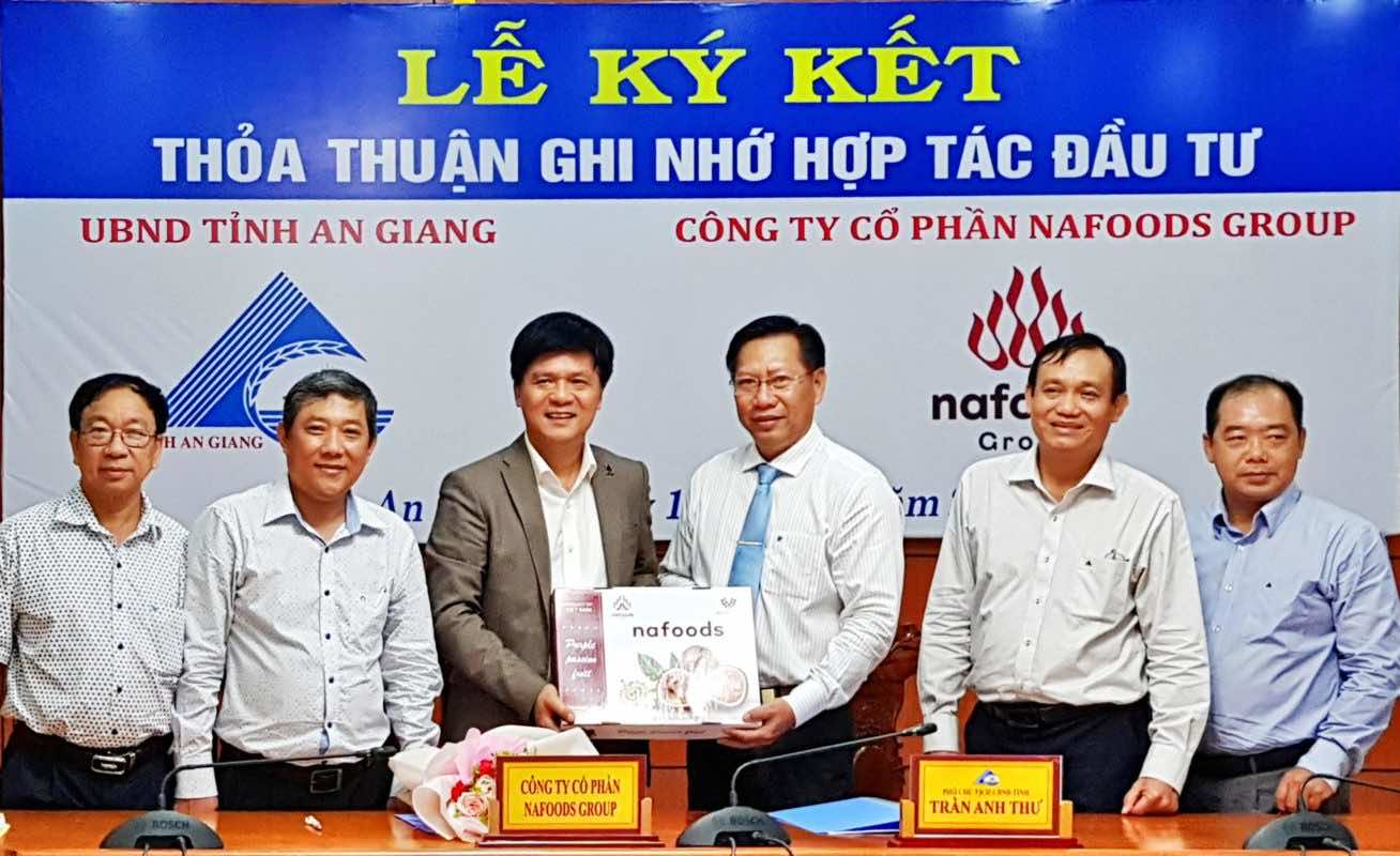 Nafoods kí kết thỏa thuận hợp tác chiến lược với UBND tỉnh An Giang