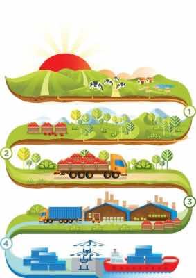 Chuỗi giá trị nông nghiệp khép kín Nafoods Group đang thực hiện và hoàn thiện