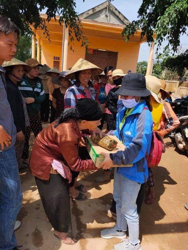 Nafoods Group hướng về đồng bào lũ lụt miền Trung