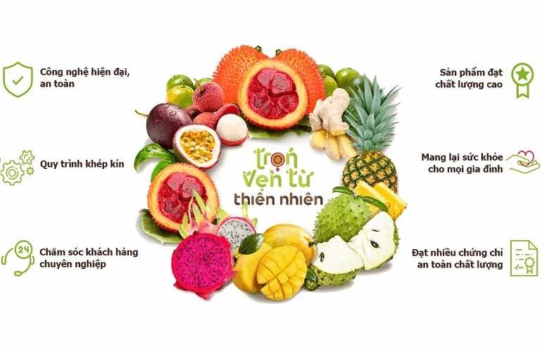 Nafoods is a top quality supplier of fresh fruit products