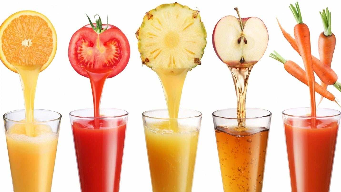 The juice concentrate is a special nutritional drink on the market