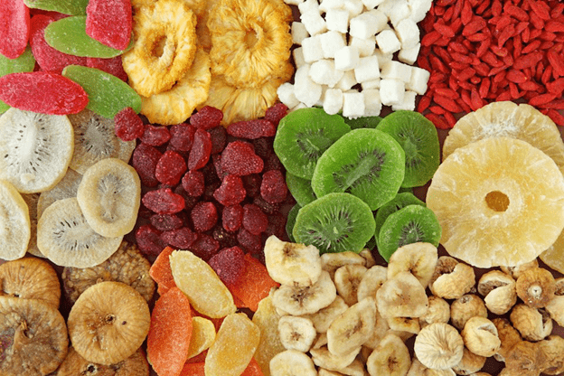 Dried fruit has many unexpected advantages compared to fresh fruit