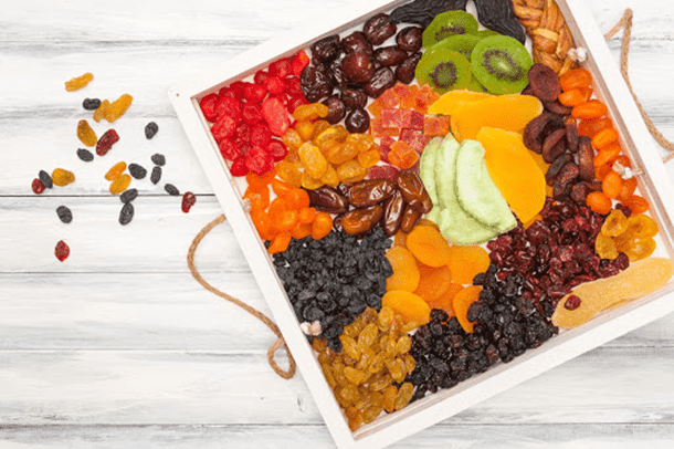 Dried fruit has many amazing health benefits