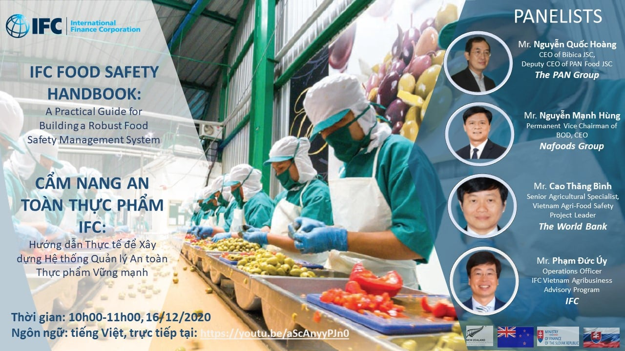 Đại diện Nafoods chia sẻ kinh nghiệm về vấn đề quản lý và thực hiện An toàn thực phẩm