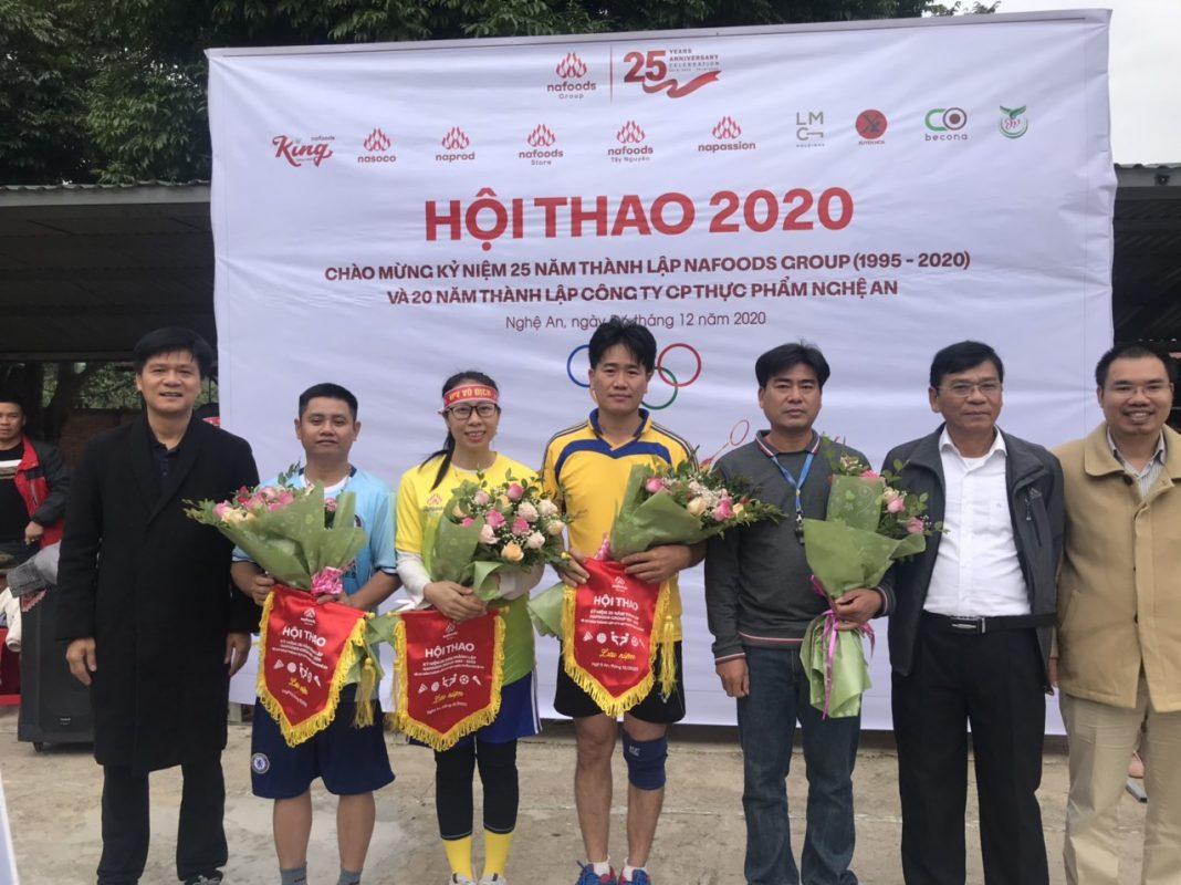 Tưng bừng hội thao truyền thống Nafoods tại Nghệ An