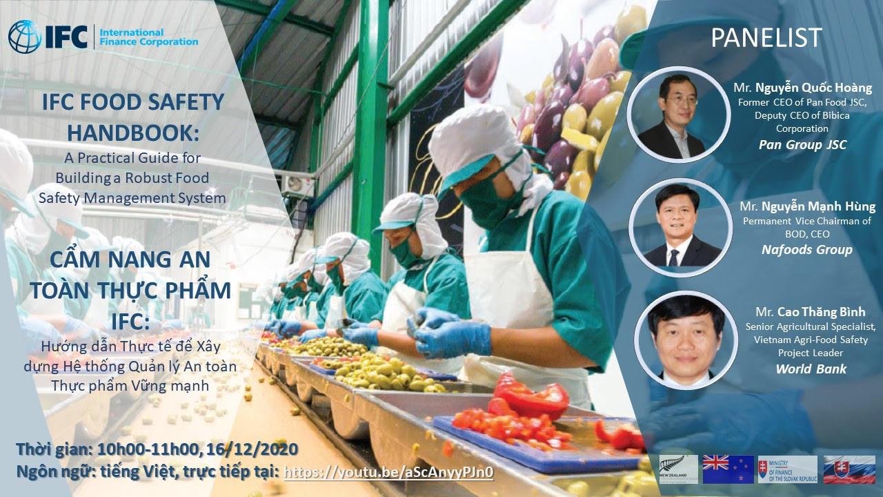 Cùng Nafoods tham dự tọa đàm về an toàn thực phẩm 2020 IFC