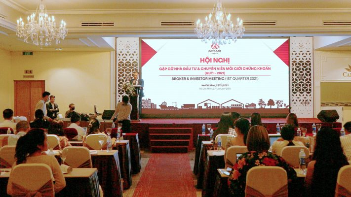 Ông Phạm Duy Thái - Chánh VP HĐQT điều hành Hội nghị: Gặp gỡ nhà đầu tư và chuyên viên môi giới chứng khoán Quý 1/2021 Nafoods Group